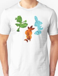 New Hoenn Starters // Pokemon ORAS T-Shirt