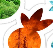 New Hoenn Starters // Pokemon ORAS Sticker