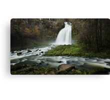 Waterfall after the rain Canvas Print