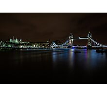London at Night Photographic Print