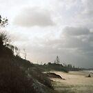 beach Byron Bay by Barbara Fischer