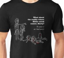 Rick and Morty kill themselves in white Unisex T-Shirt