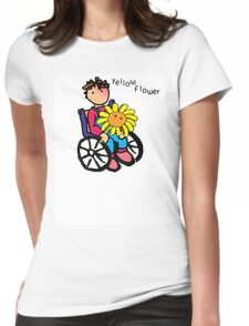 THE YELLOW FLOWER Womens Fitted T-Shirt