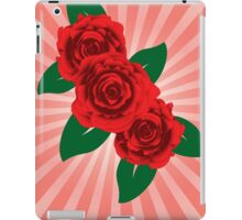 Red roses 2 iPad Case/Skin