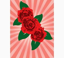 Red roses 2 Womens Fitted T-Shirt