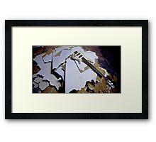 Low End Destruction Framed Print