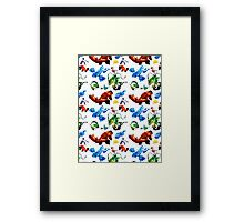 Hoenn Legends // Pokemon ORAS Framed Print