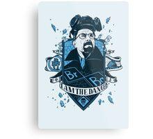 I am the Danger – Blue Metal Print