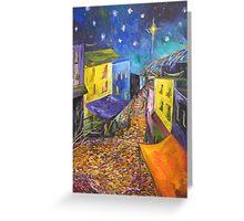 Star at Night Greeting Card