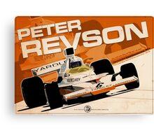 Peter Revson - F1 1973 Canvas Print