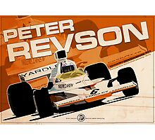 Peter Revson - F1 1973 Photographic Print