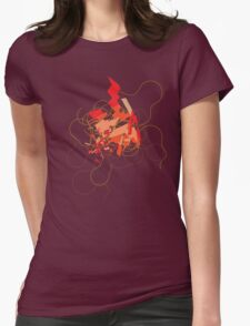 Explode Womens Fitted T-Shirt