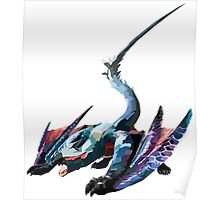 Nargacuga - Monster Hunter Poster