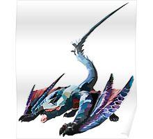 Nargacuga - Monster Hunter Poster