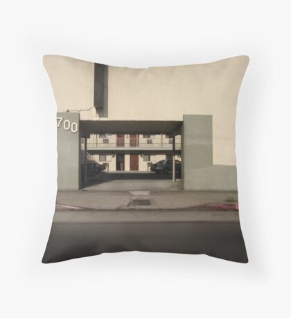 LA Minimal Throw Pillow