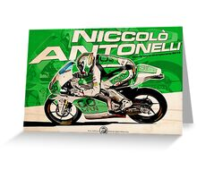 Niccolò Antonelli - Moto 3 2013 Greeting Card