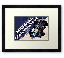 Michael Schumacher - F1 1995 Framed Print