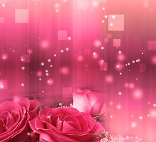 Roses in a Magic Light 2 by AnnArtshock