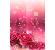 Roses in a Magic Light 2 Photographic Print