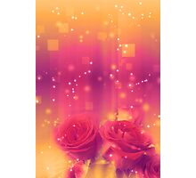 Roses in a Magic Light 3 Photographic Print