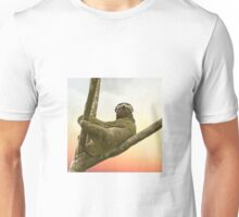 Chill with sloth Headphones Unisex T-Shirt
