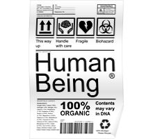 Human Being - Light Poster
