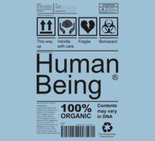 Human Being - Light Kids Clothes