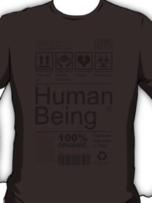 Human Being - Light T-Shirt