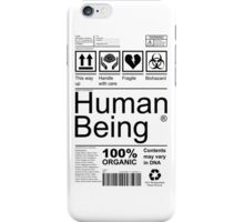 Human Being - Light iPhone Case/Skin