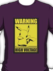 Warning High Voltage T-Shirt