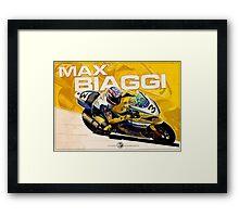 Max Biaggi - SBK 2007 Framed Print