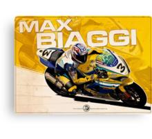 Max Biaggi - SBK 2007 Canvas Print