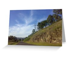 Road to anywhere.. Greeting Card
