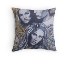 Deceit Throw Pillow