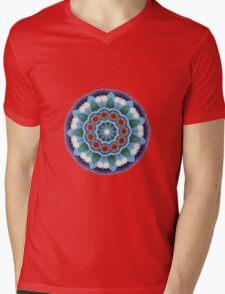 Mandala : Flower Burst  Mens V-Neck T-Shirt