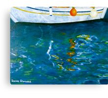 Greek Reflections Canvas Print