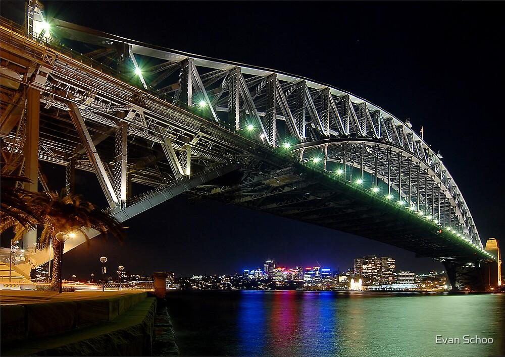 Sydney Harbour Bridge by Evan Schoo