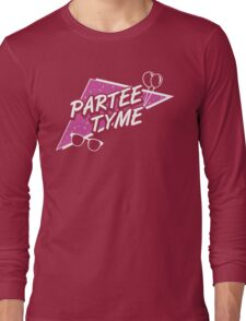 Official Dirty 30 - Partee Tyme Tee Long Sleeve T-Shirt
