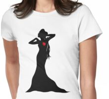 Evil Regal Queen Womens Fitted T-Shirt