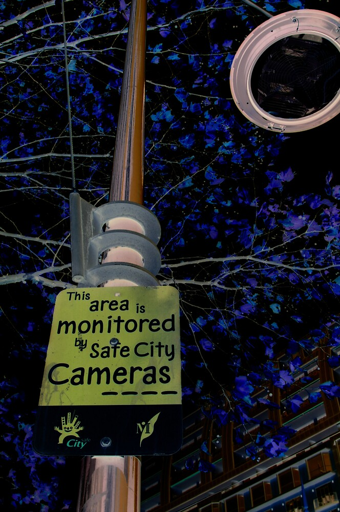 safety camera sign by rick strodder