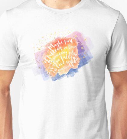 the sun is also a star - natasha  Unisex T-Shirt