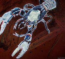 Lamington Blue Cray by John Mikkelsen