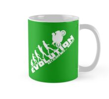 Biker Evolution Eat, Sleep, Rev... Repeat Green mug Mug
