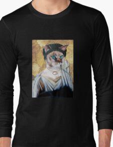 Greek Lady Cat Long Sleeve T-Shirt
