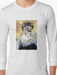 Greek Lady Cat Long Sleeve T-Shirt