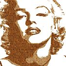 Scrabble Monroe by Gary Hogben