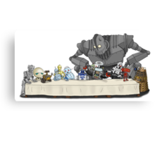 The Last Robot Supper Canvas Print