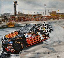 NASCAR Martin Truex Jr  by iconic-arts