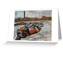 NASCAR Martin Truex Jr  Greeting Card