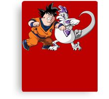 Family Guy Z - Goketer VS Cheeza - 02 Canvas Print